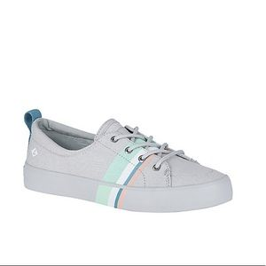 SPERRY Crest Buoy grey pastel Sneaker size 6.5